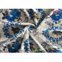 Buy cheap Printed 100 Polyester Microfiber Velvet Furniture Upholstery Fabric For Cushion Fabric from wholesalers