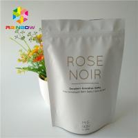 Buy cheap Coffee Scrub Packaging Stand Up Bags Ziplock Aluminum Foil Body Bath Salt Pack from wholesalers