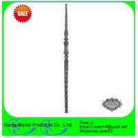Buy cheap wrought iron metal iron balusters for iron window grills from wholesalers