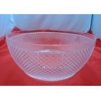 Buy cheap Customized Food-grade 100%  Clear Acrylic Bowl For Fruit Salad product
