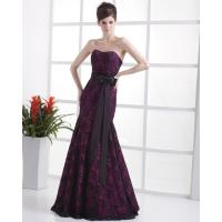Buy cheap Elegant Black Red halter drop waist Wedding Dresses Slim for Evening Party from wholesalers