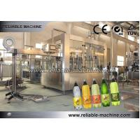 Buy cheap Easy Carbonated Beverage Bottling Equipment Automatic Rinsing Filling Capping Machine from wholesalers