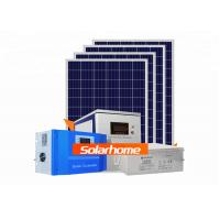 Buy cheap Bluesun AGM Solar Panel System 30 Kw 6 Input 2 Output Solar Battery System product
