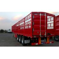 Buy cheap 3 Or 4 Axles 45ft Cargo Van Trailer Multi - Function Standard Running System from wholesalers