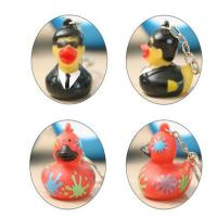 Buy cheap Customized Mini Rubber Animal Keychains Monster Duck For Bag BPA Free Vinyl product