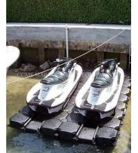 Buy cheap HDPE floating pontoon, floating platform for boat and jet ski product