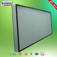 Buy cheap High Efficiency Hepa Air Filters , Air Conditioner Hepa Filter Air purify from wholesalers