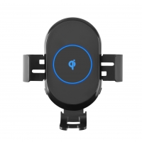 Buy cheap FOD Sensor 360° Rotation 10W Qi Wireless Phone Charger from wholesalers
