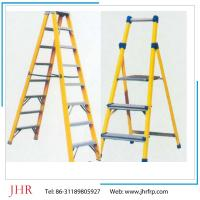 Buy cheap FRP ladder, home ladder, yellow color, step ladder, cable ladder, plastic ladders from wholesalers