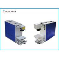 Buy cheap Ezcad Software 20w Desktop Fiber Laser Marking Machine For Gold Silver Copper brass from wholesalers