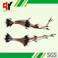 Buy cheap Diameter 0.6mm Pin Male To Male Breadboard Jumper Wires ROHS Certificated from wholesalers