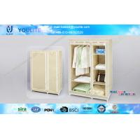 Buy cheap Fabric and Steel Tube Multi-layer Wardrobe Garage Storage Racks for Quilts and Towels from wholesalers