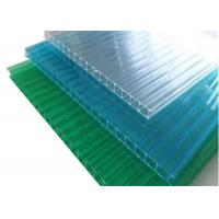 Buy cheap Colored Twinwall  Polycarbonate Sheet Construction Building Materials from wholesalers