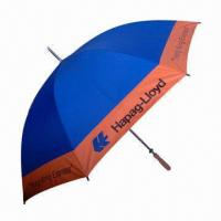 Buy cheap Promotional and Advertising Beach Umbrella, Available for OEM Design and Printing from wholesalers