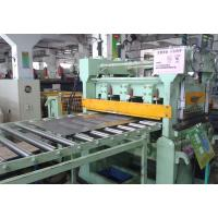 Buy cheap 0.3 - 3mm Simple Galvanized Steel Slitting Lines , High Speed Cut To Length Machine from wholesalers