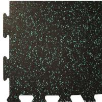 Buy cheap Colorful EPDM Rubber Sports Flooring / Interlocking Exercise Floor Tiles from wholesalers