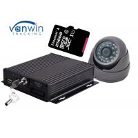 Buy cheap Google map GPS car tracking system 4 channel ahd mobile dvr support dual sd cards 256g from wholesalers