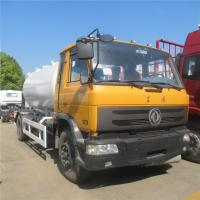 Buy cheap HOT SALE! dongfeng 4*2 LHD 10cbm-15cbm mobile lpg gas dispensing truck, cheaper price 5tons propane refilling vehicle from wholesalers
