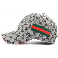 Buy cheap Grey Outdoor Real Authentic Gucci Hat , Eco - Friendly Gucci Bucket Hat Extremely Durable from wholesalers