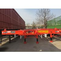 Buy cheap 40 Feet Container Carrying Semi Trailer With JOST Landing Leg from wholesalers