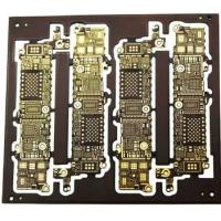 Buy cheap HDI Circuit Board Printing Service HDI4 - Stage Blind Buried VAI Hole ISOLA+FR-4+TG180 from wholesalers