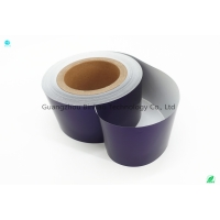 Buy cheap Water Base Ink Dark Blue Color Cigarette Aluminium Foil Paper Package from wholesalers