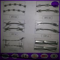 Buy cheap Razor Wire BTO-22 Concertina Barbed Roll from wholesalers