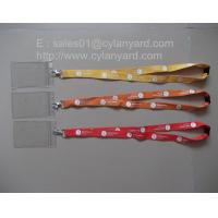 Buy cheap polyester ID tag lanyards, ID badge holder lanyards, from wholesalers