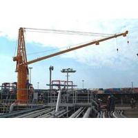 Buy cheap Electric and Hydraulic Marine Deck Crane from wholesalers