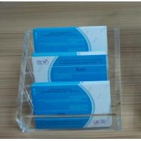 Buy cheap Multi Vertical Acrylic Stationery Holder for Men Business Card 100 * 100 * 80 mm product
