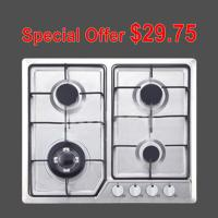 Buy cheap Stainless Steel Gas Hob With 4 Burners Home Appliance OEM / ODM Service from wholesalers