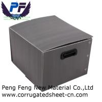 Buy cheap 2-12 mm white/black/green/yellow cheap price polypropylene corflute turnover box for packing industry from wholesalers