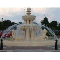 Buy cheap Roma Outdoor waterfall Fountain statue and horse stone sculpture from wholesalers