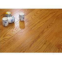 Buy cheap Archaize Red Oak Solid Wood Flooring For Living Room Emboss Pattern from wholesalers