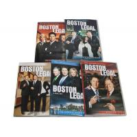 Buy cheap Best Movie Captioned Closed TV DVD Box Sets Boston Legal Season 1-5 Series from wholesalers