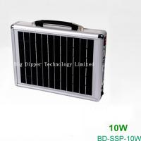 Buy cheap 10W Portable Solar Power System with Card Reader Speaker and Radio from wholesalers