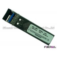 Buy cheap BiDi Single Mode Fiber Transceiver , 155M SFP Optical Transceiver With DDM from wholesalers