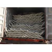 Buy cheap PVC Razor Barbed Wire Fence , Colored Concertina Wire Fencing Firm Structure from wholesalers
