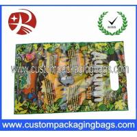 Buy cheap HDPE / LDPE Die Cut Handle Plastic Polythene Bags For Gift HDB11 from wholesalers