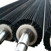 Buy cheap Food Industry Cleaning Equipment Brushes , PP / Nylon Cylindrical Roller Brush product