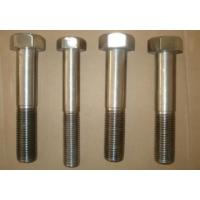 Buy cheap Inconel 718 Nickel Alloy Fasteners Hex Head Bolts 1/4 - 4 ASME B18.2.1 from wholesalers