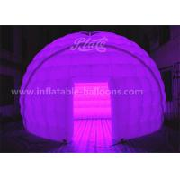 Buy cheap 5M 420D Oxford Cloth Inflatable Event Tent LED Dome Tent With Remote Controller from wholesalers