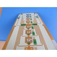 Buy cheap High Frequency PCB Bare Board | 10 mil RO4350B Printed Circuit Board | Immersion Gold HF PWB from wholesalers