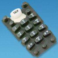 Buy cheap Customized Conductive Rubber Keypad for Wireless Telephones from wholesalers