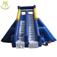 Buy cheap Hansel  funny amusement park games china bouncy castle inflatable water slide from wholesalers