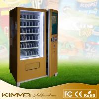 Buy cheap Touch Screen Combined Snack And Drink Vending Machine With Removable Cooling System from wholesalers