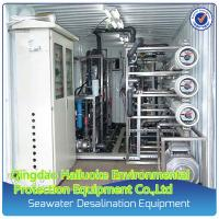 Buy cheap Mobile Containerized Reverse Osmosis Sea Water Desalination Machine from wholesalers