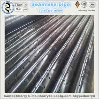 Buy cheap stainless slotted liner 7-5/8 perforated drainage pipe slotted pipe from wholesalers