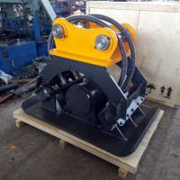 Buy cheap Small Stone Hydraulic Compactors For Excavators , Horizon Compaction Hydraulic Plate Compactor from wholesalers