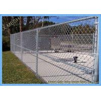 Buy cheap PVC Coated Security Wire Mesh Chain Link Fence from wholesalers